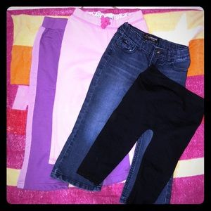 Bundle of 3T pants for girl